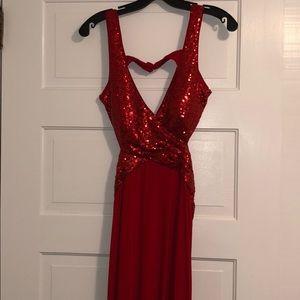 Faviana Prom Dress (one-piece)